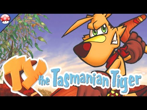 TY the Tasmanian Tiger: PC Gameplay (Steam Early Access 3D Platformer Game)