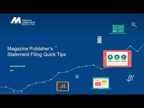 Magazine Publisher's Statement Filing Tips & Tricks [webinar]