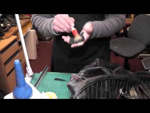 celine micro luggage tote bag - Fixing a rip in a leather bag - Pick Up My Repair - YouTube