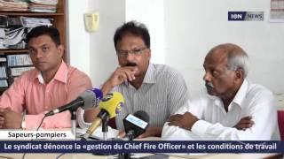 [Pompiers] Le syndicat dénonce la «gestion du Chief Fire Officer» et les conditions de travail