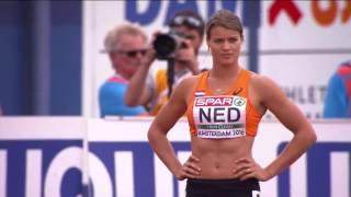 Чемпионат Европы по легкой атлетике-2016. Эстафета 4х100. Женщины. Финал. Украина 4-е место