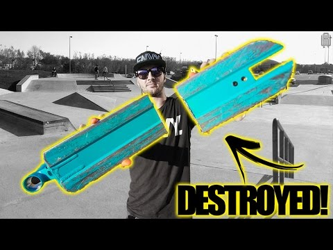 WHATS INSIDE A SCOOTER DECK?