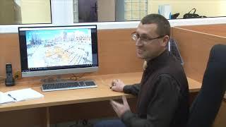 Десна-ТВ: В Десногорске все спокойно: видеонаблюдение города заработало в штатном режиме