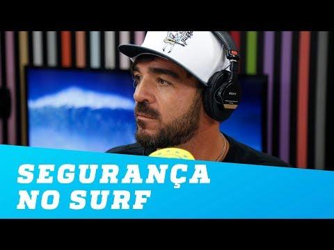 Segurança no surf vem do respeito ao mar, diz Koxa