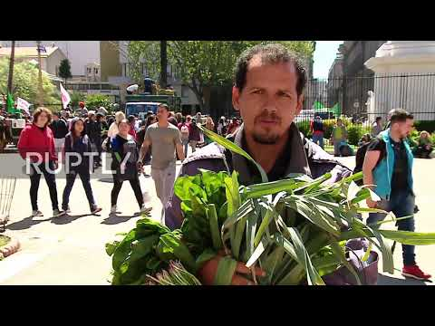 Argentina: Farmers converge on Buenos Aires to decry food prices
