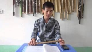 Hướng dẫn sáo trúc bài Anh - sáo trúc Cao Trí Minh