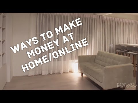 How to make MONEY at home or online | 30 Start up ideas