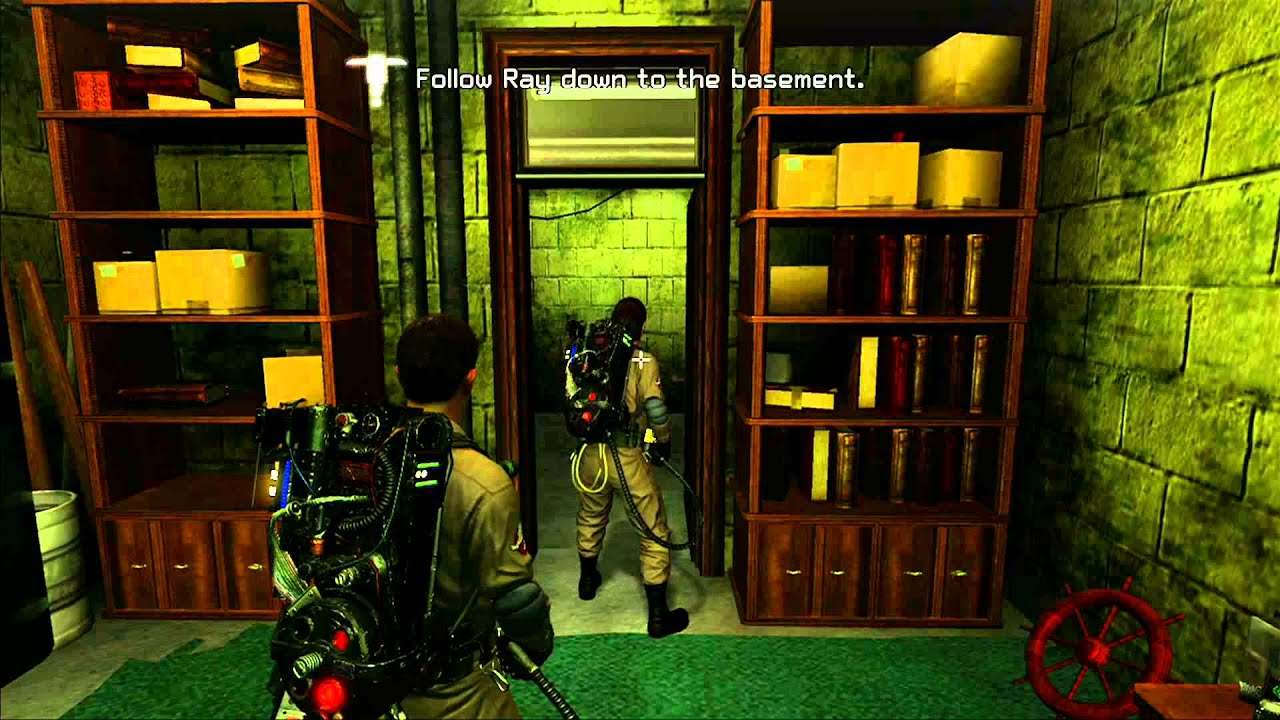Ghostbusters The Game Xbox 360 Walkthrough Part 1 Training