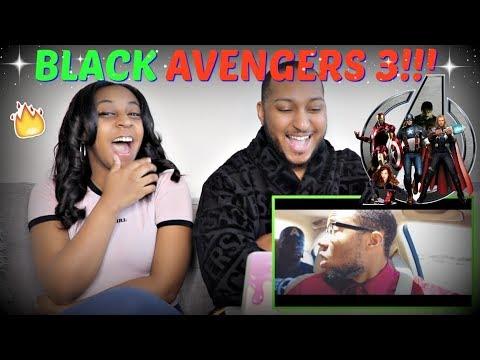 """RDCworld1 """"BLACK AVENGERS 3: INFINITY WAR"""" REACTION!!!"""