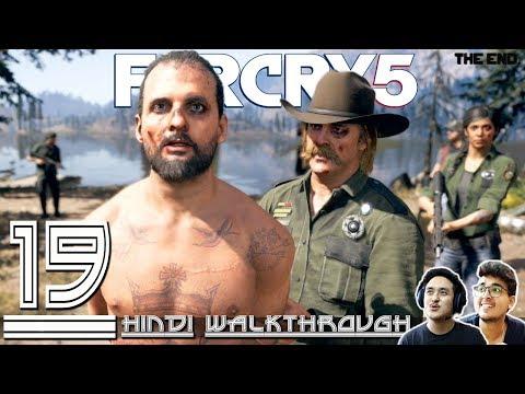 "FAR CRY 5 (Hindi) Walkthrough #19 ""JOSEPH'S DOOMSDAY ENDING"" (PS4 Pro Gameplay)"
