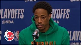 The Spurs can't lean on playoff experience, must play harder in Game 2 - DeMar DeRozan | NBA on ESPN