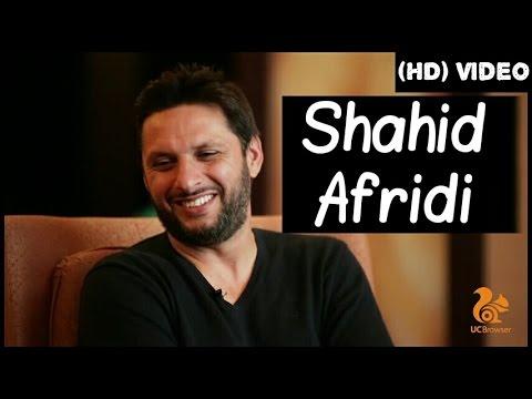 Shahid Afridi Latest Interview To Zainab Abbas | UC Browser (HD)