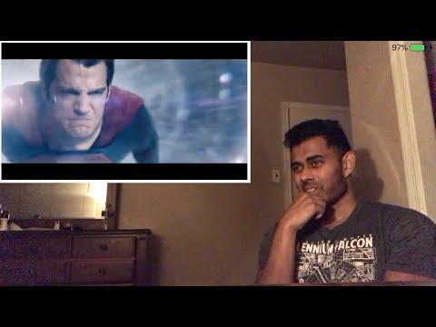 Superman Arrives in Avengers: Endgame   Fan-Made [HD] Adeel of Steel Reaction