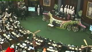 Pres. Obama Talks Security at Indian Parliament