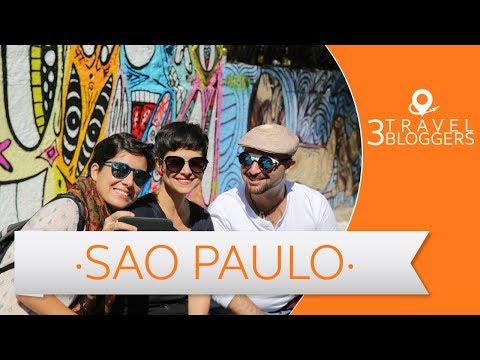 3 Travel Bloggers en Sao Paulo - Laura Lazzarino, Gaia Passarelli, JL Pastor