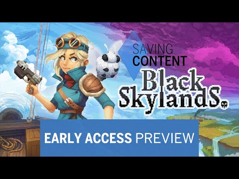 Jefferson Airship - Black Skylands Early Access Preview |