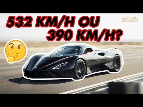 SSC TUATARA É FRAUDE? A história do (possível) carro mais rápido do mundo no Tudo Sobre #38