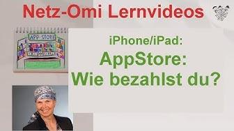 iPhone/iPad für Senioren: Bezahlen Im App-Store - auch ohne Kreditkarte?