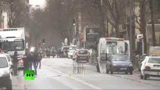 Policière abattue à Montrouge: transmission vidéo en direct des lieux du crime