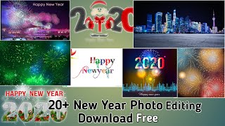 Happy New Year 2020 Best Photo Editing Background Text Png Images Free