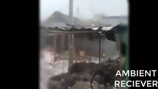 Hailstorm in India 16th April 2019
