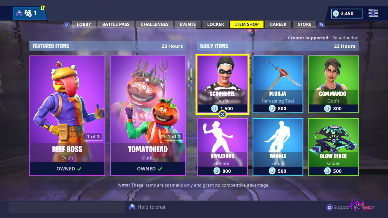 TOMATO HEAD/BEEF BOSS RETURN! [ITEM SHOP NOV 13TH ...