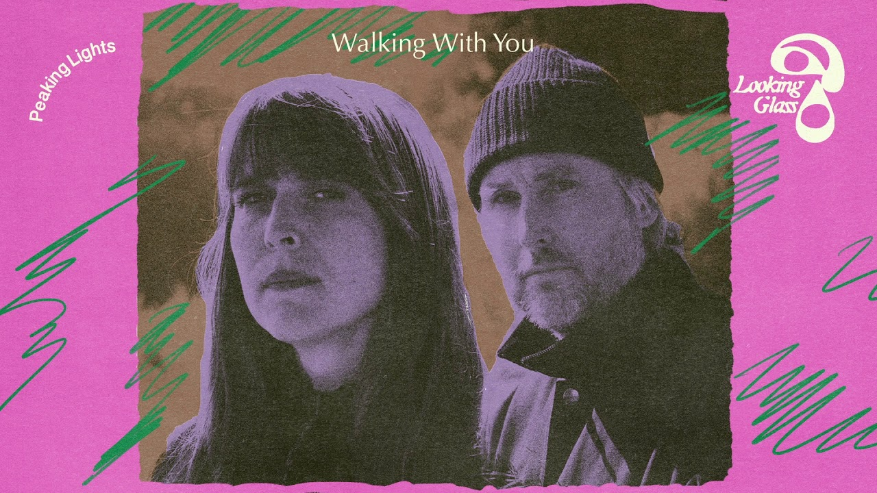 With you walking
