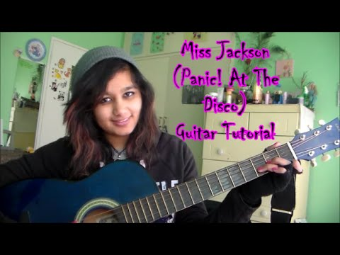 Miss Jackson (Panic! At The Disco) Guitar Tutorial