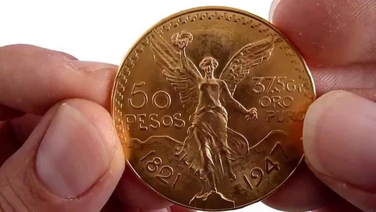 413b411300d5 (A LA VENTA) Centenario 50 Pesos Oro Puro - YouTube