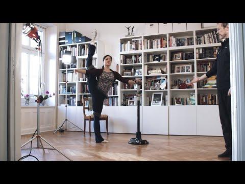 Virtuelles Ballett-Training / Virtual Ballet Training – Hamburg Ballett