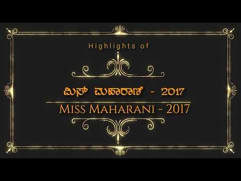 Miss Maharani Contest 2017, Maharani College Bangalore