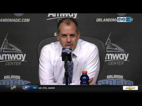 Frank Vogel -- Orlando Magic vs. Atlanta Hawks 02/25/2017