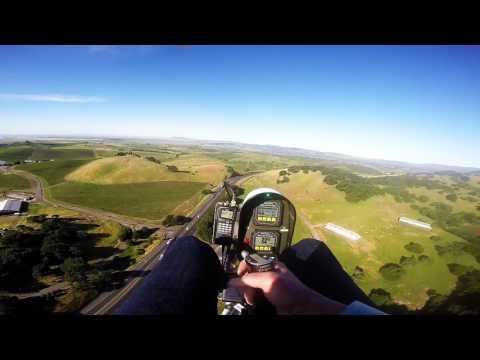 Napa River and Sonoma Valley flight in Monarch Gyro