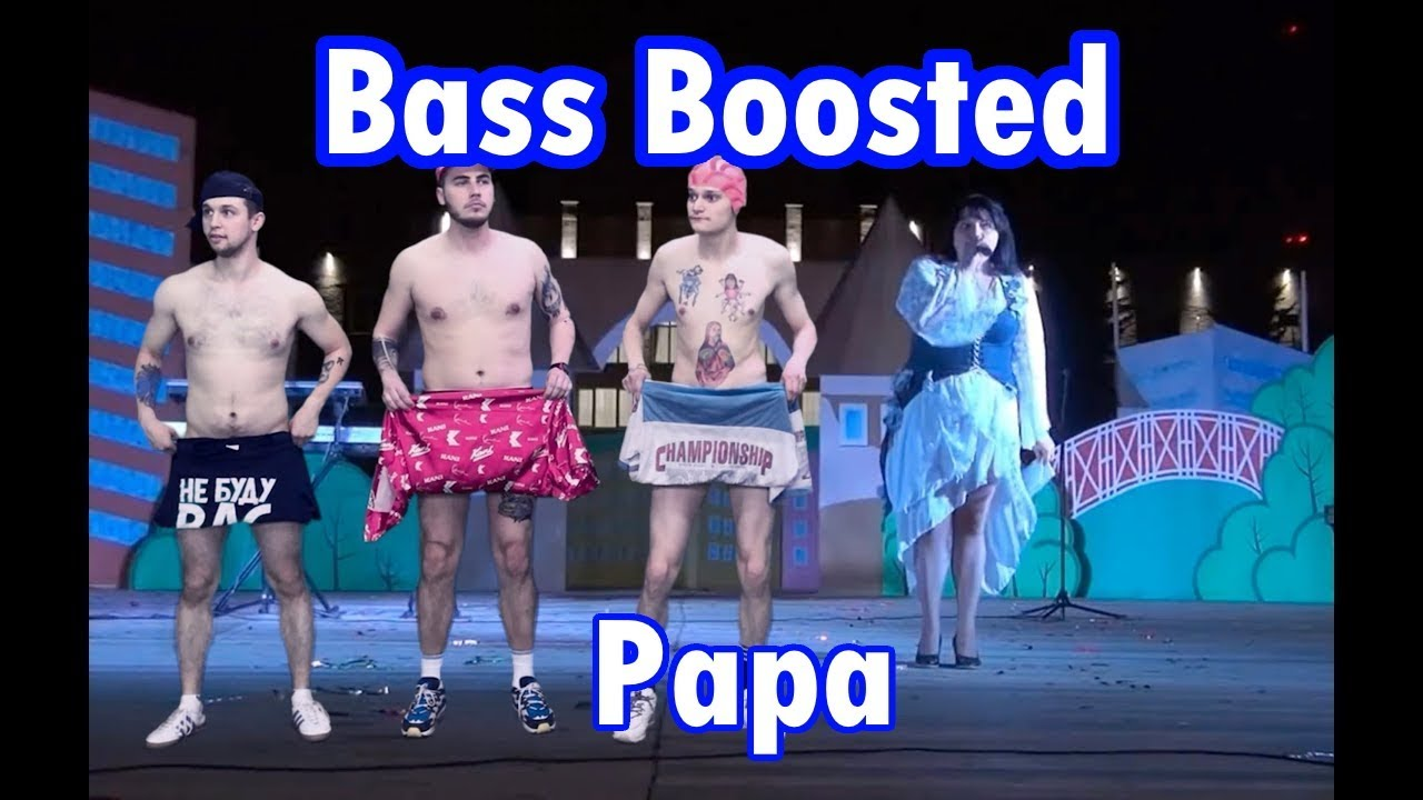BASS BOOSTED Russian Village Boys - Papa