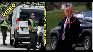 TRUMP FIRES ALL HIS MOTORCADE VAN DRIVERS AFTER SECRET SERVICE MAKES SHOCKING DISCOVERY!