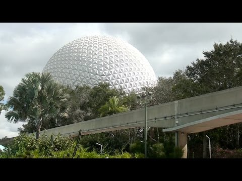 A Day at Disney World's EPCOT -With EPCOT Facts/Figures