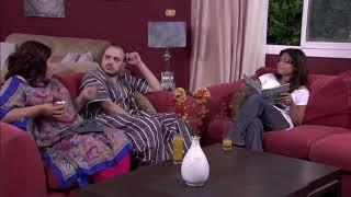 نونة المأذونة - إيمان السيد وأحمد ثابت في مشهد كوميدي  .. ياساتر شايلة اللوز والبلعوم مع بعض