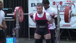Pavel Marda - 717.5kg 3rd Place 74kg - IPF World Classic Powerlifting Championships 2016