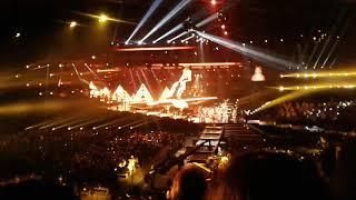 Концерт Ани Лорак в СК Олимпийский - открытие, Shady lady (#ШОУДИВА, Москва 03.03.18)