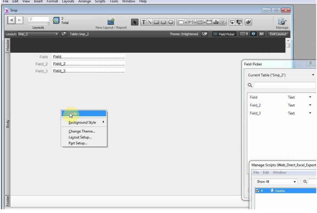 A Pdf From Web Direct Filemaker