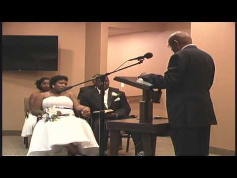 Wedding James n DaeTara Johnson youtube
