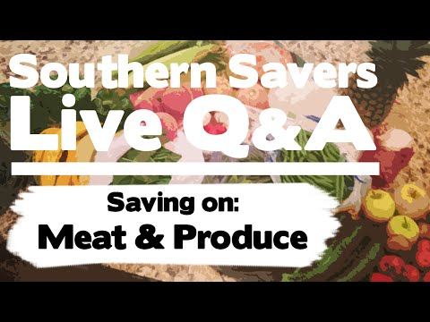 Saving on Meat and Produce