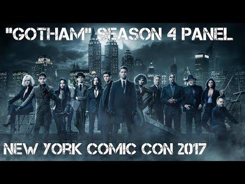 """GOTHAM"" PANEL — NEW YORK COMIC CON 2017   LadyJenevia"