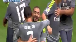 эспаньол - Реал Мадрид 0:6 Все голы Обзор матча 12-09-2015