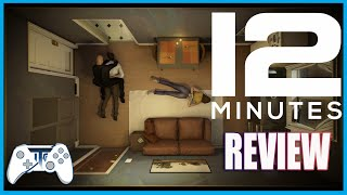 Twelve Minutes review! Time Loop Top Down Thriller. (Video Game Video Review)