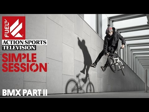 Simple Session 14 Fuel TV show online premiere: BMX #2