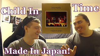 College Students FIRST TIME Hearing | Child In Time Live Made In Japan | Deep Purple Reaction