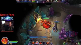 Heroes of the Storm: Quick Matching Ragnaros and Kharazim (9/6/2017)