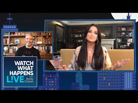Kyle Richards' Most Recent Run-In With Lisa Vanderpump | WWHL
