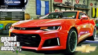Chevrolet Camaro ZL1 2017 🚗 GTA V ☢ Extreme Graphics !!!
